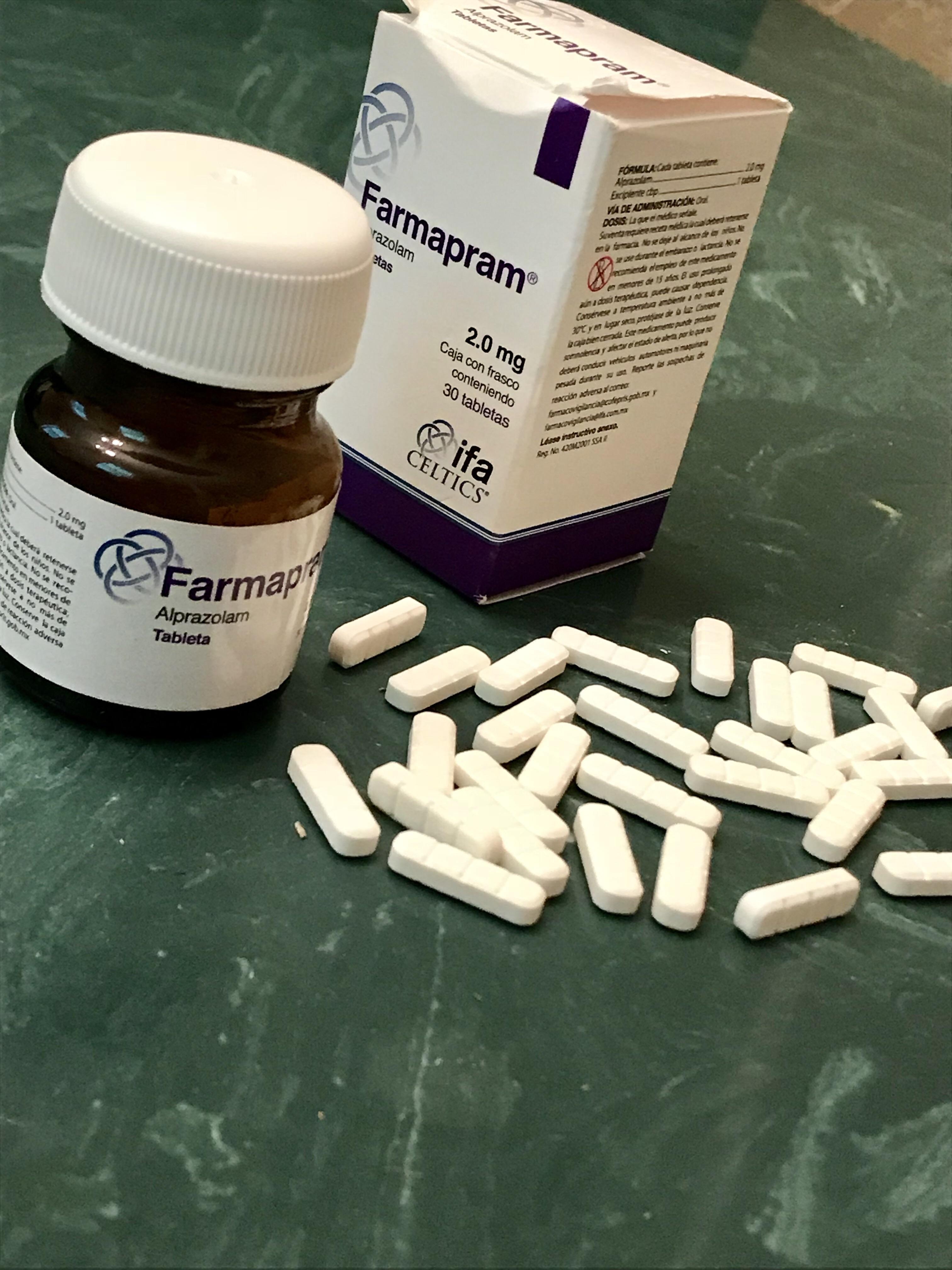 Buy Farmapram 2mg (Alprazolam) online